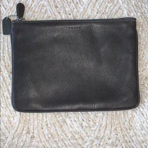 Coach zipper bag